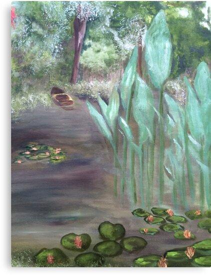 Monet's Garden by Sharon Ellem-Bell