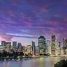 Eventide - Brisbane City Qld Australia by Beth  Wode