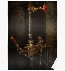 Steampunk - Plumbing - Number 4 - Universal  Poster