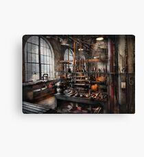 Steampunk - Room - Steampunk Studio Canvas Print