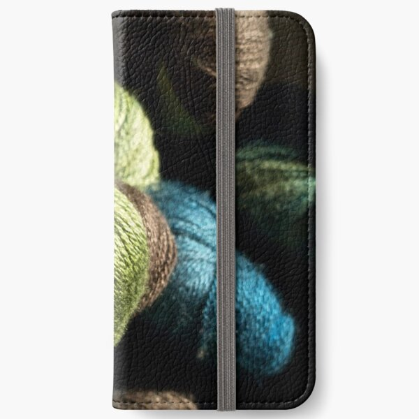 Dreaming of Knitting iPhone Wallet