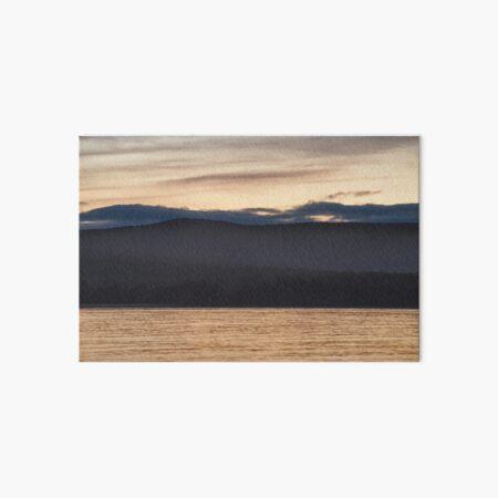 Pumphouse Point on Lake St Clair, Tasmania Art Board Print