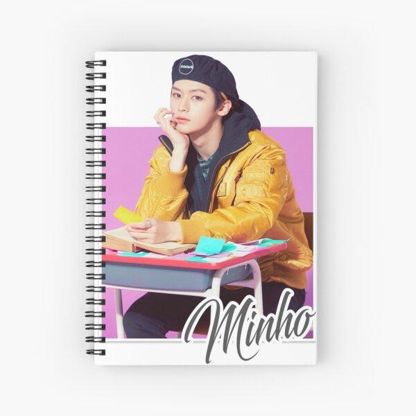 Stray Kids - Minho Spiral Notebook