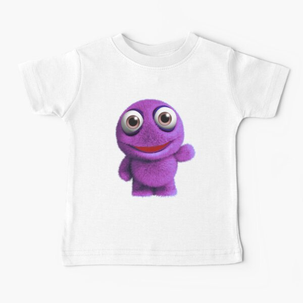 Pink Monster Baby T-Shirt