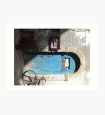 Door ways, Essaouria Morocco Art Print