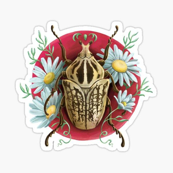 Escarabajo Goliat Pegatina