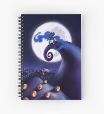 My Little Pony - MLP - Nightmare Before Christmas - Princess Luna's Lament Spiral Notebook