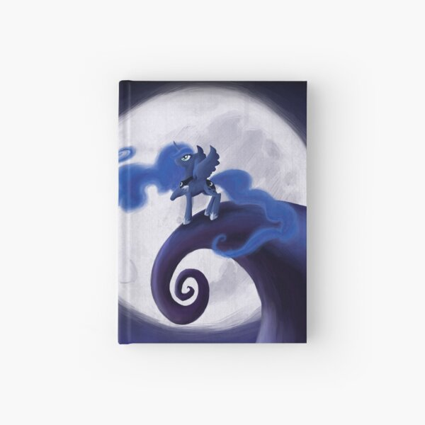 My Little Pony - MLP - Nightmare Before Christmas - Princess Luna's Lament Hardcover Journal