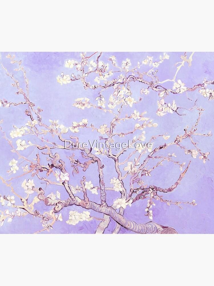 Vincent Van Gogh almond blossoms lavender by PureVintageLove