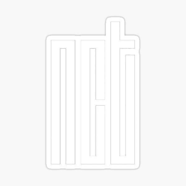 NCT KPOP Logo Sticker