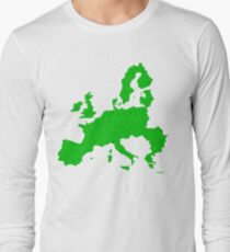 Europe full of happy smiley people Long Sleeve T-Shirt