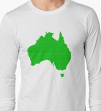 Australia full of happy, smiley people Long Sleeve T-Shirt