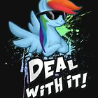 My Little Pony - MLP - Rainbow Dash - Deal With It by Kaiserin