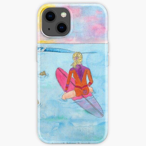 Sandtracks Surfer Girl iPhone Soft Case