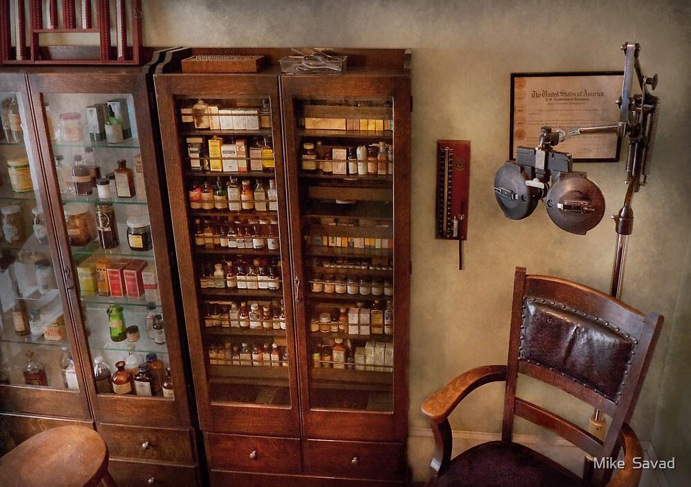 Optometrist - The Optometrists Office by Michael Savad