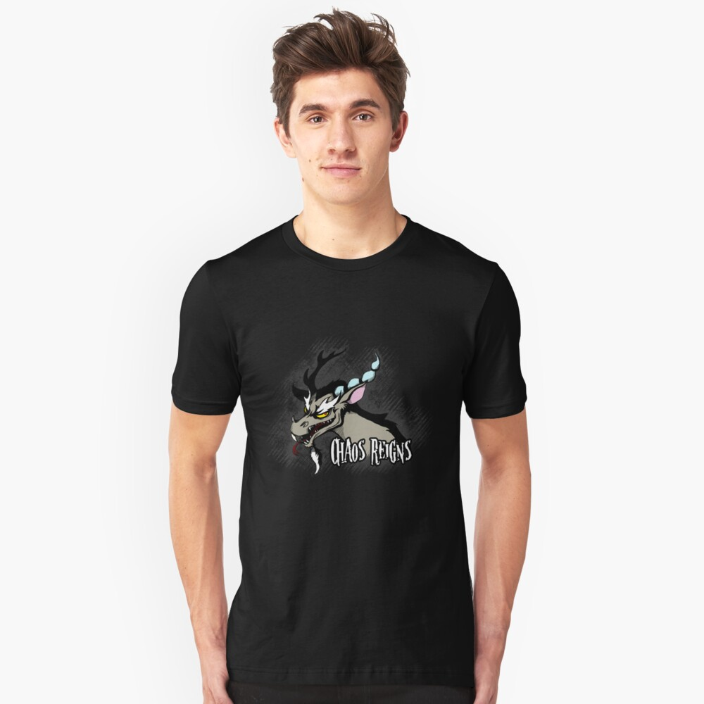 My Little Pony - MLP - Discord - Chaos Reigns Unisex T-Shirt Front