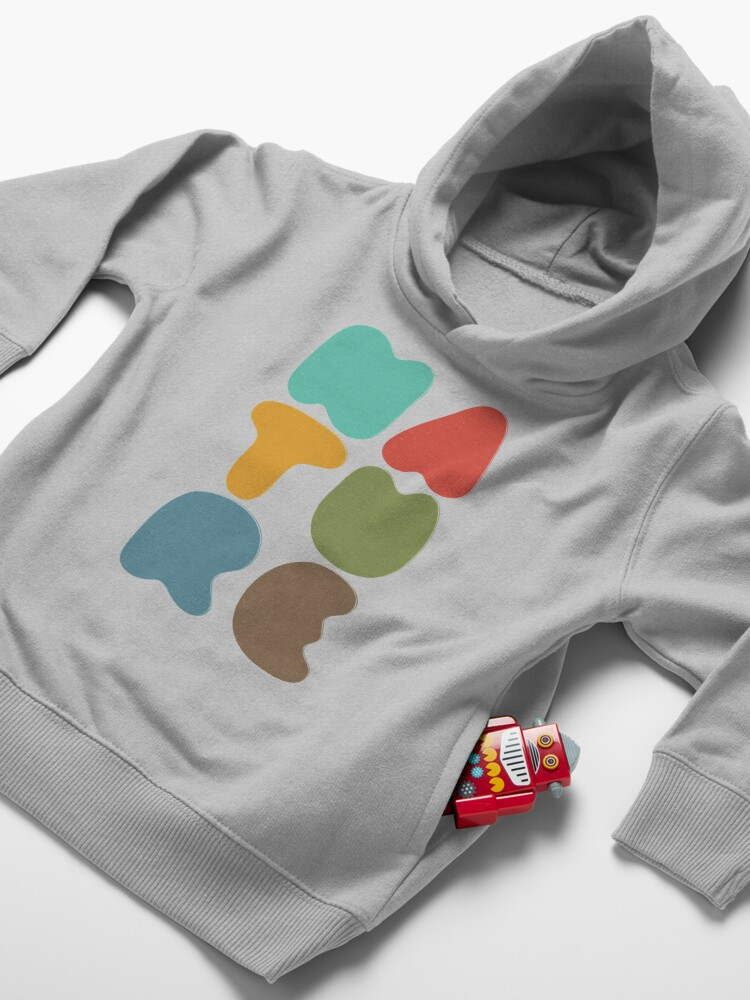 Alternate view of Bold Nature Toddler Pullover Hoodie