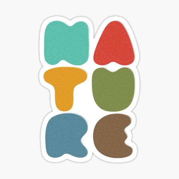 Bold Nature Sticker