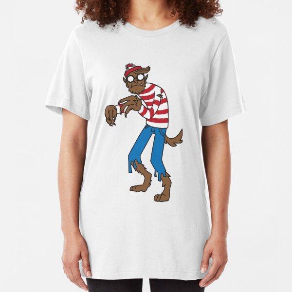 WereWaldo Slim Fit T-Shirt