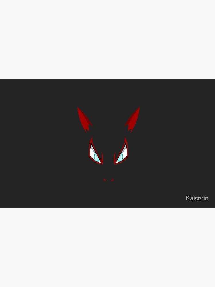 Pokemon - cara de Zoroark de Kaiserin