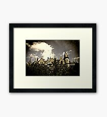 Un Chateau Belge Framed Print