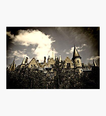 Un Chateau Belge Photographic Print
