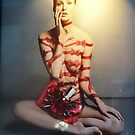 Red bows and bandages by Carol Dumousseau