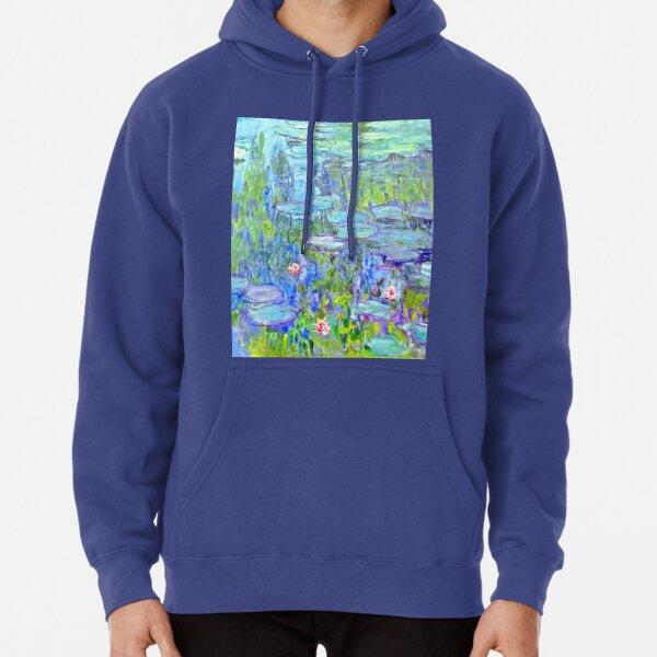 Water Lilies moneT Pullover Hoodie