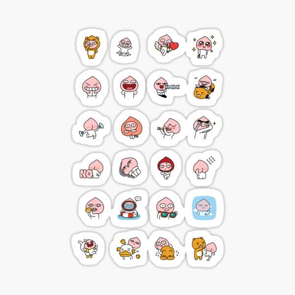 collection d'apeach !! 2.0 Sticker