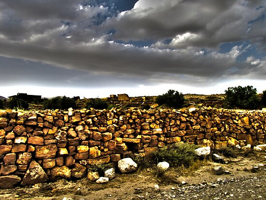 The Stone Wall by Omar Dakhane