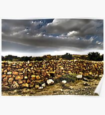 The Stone Wall Poster
