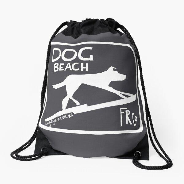 The Dingo started it (white) Drawstring Bag