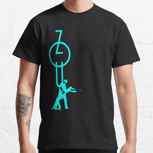 lets dance zouk - blue Classic T-Shirt