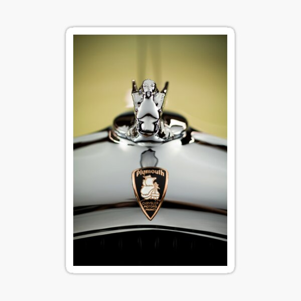 1932 Plymouth Roadster Sticker