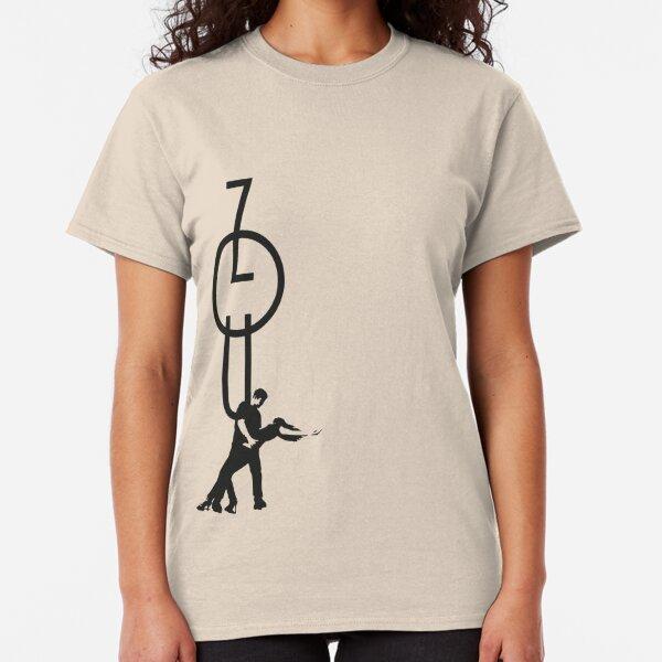 lets dance zouk - black Classic T-Shirt