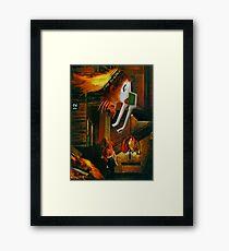 House of the Night Poacher. Framed Print