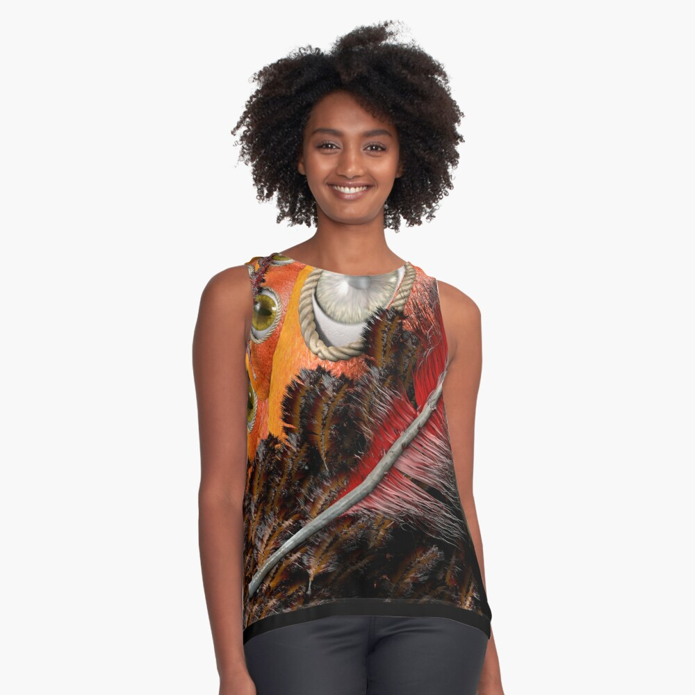all eyes on you Sleeveless Top