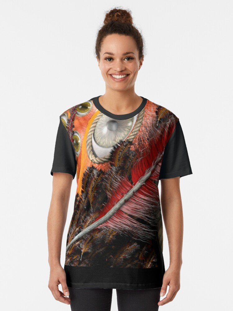 Alternate view of all eyes on you Graphic T-Shirt