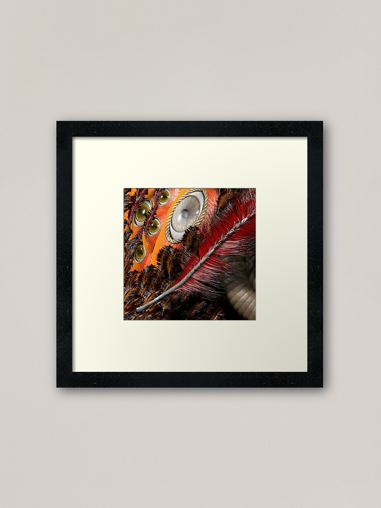 Alternate view of all eyes on you Framed Art Print