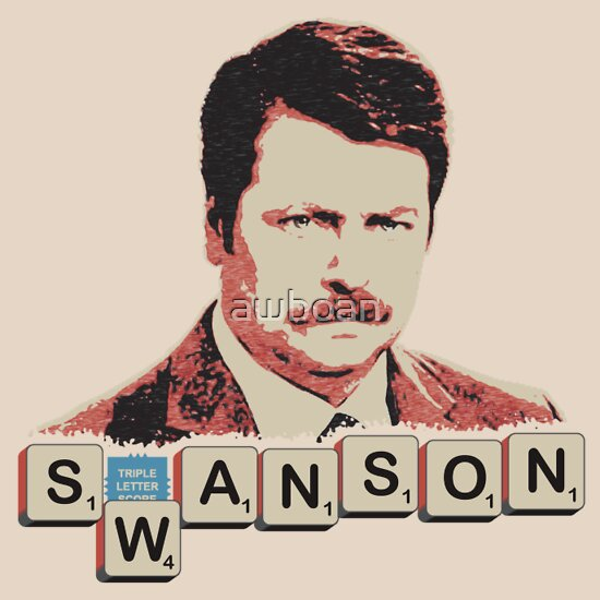 "TShirtGifter presents: ""You suck at Scrabble."" Parks and Recreation"