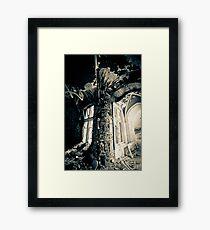 Flow ~ Chateau Noisy Framed Print