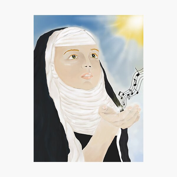 viele Nerven und meine Maus;)  Hildegard von Bingen (1098 - 17. September 1179) Fotodruck