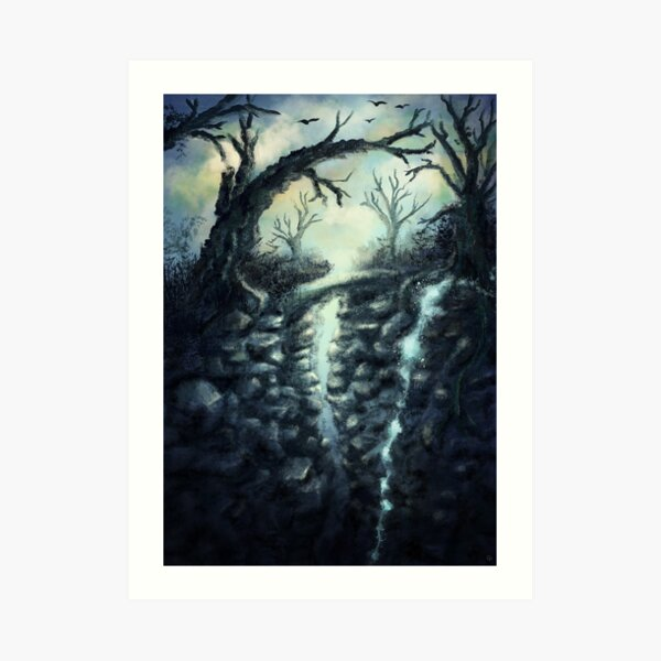 Fantasy Environment Art Print
