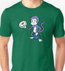 Purple Monkey Dishwasher Unisex T-Shirt