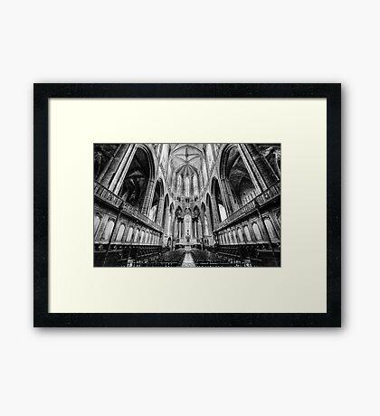 Narbonne Cathedral Framed Print