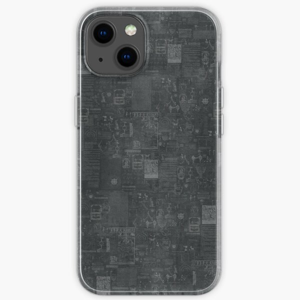 BSIS LVD Collage - grey iPhone Soft Case