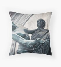 Death & the Maiden Throw Pillow