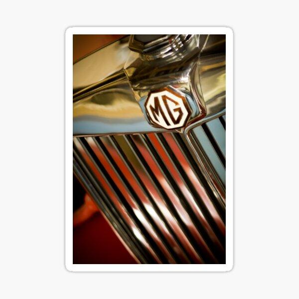 1950 MGTD Roadster Sticker