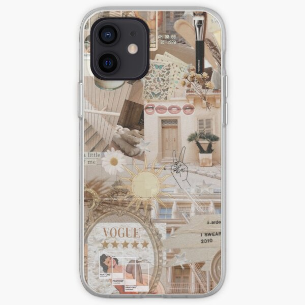 beige aesthetic iPhone Soft Case
