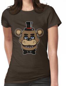 Five Nights at Freddy's - FNAF - Freddy Fazbear  Womens Fitted T-Shirt